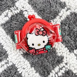 Rare Vintage Sanrio Hello Kitty Wrist Coin Purse
